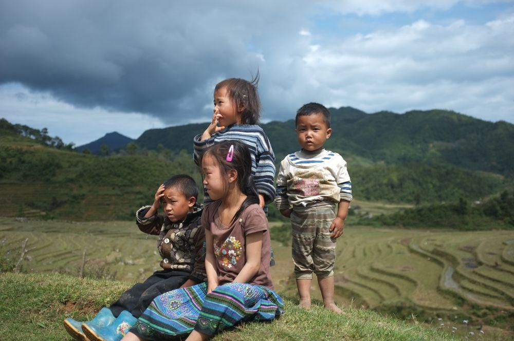 Kinder der Berge