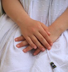 Kinder-Hände