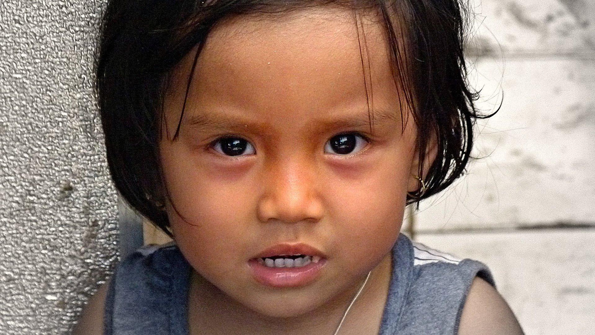 Kinder in Asien