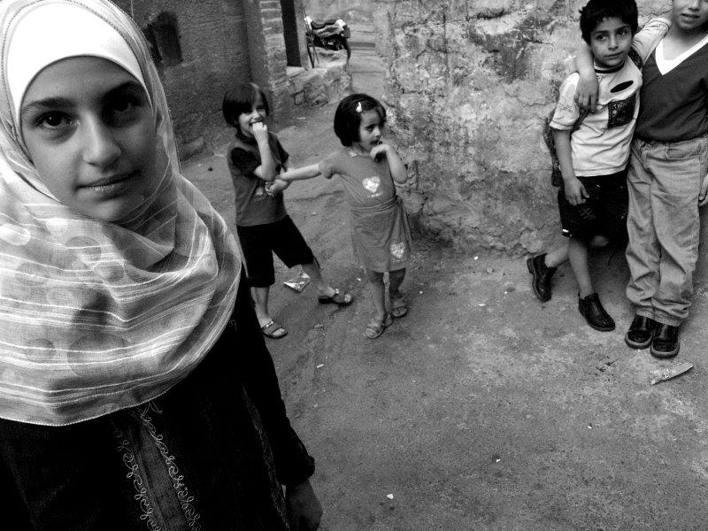 Kinder in den Gassen von Damaskus 1