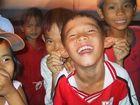 Kinder in Palmira