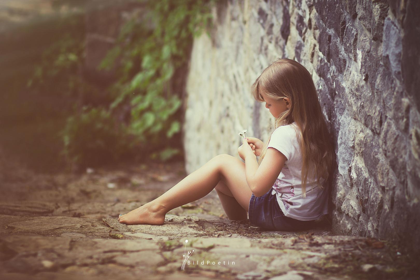 Kinder leben in ihrer Fantasie...