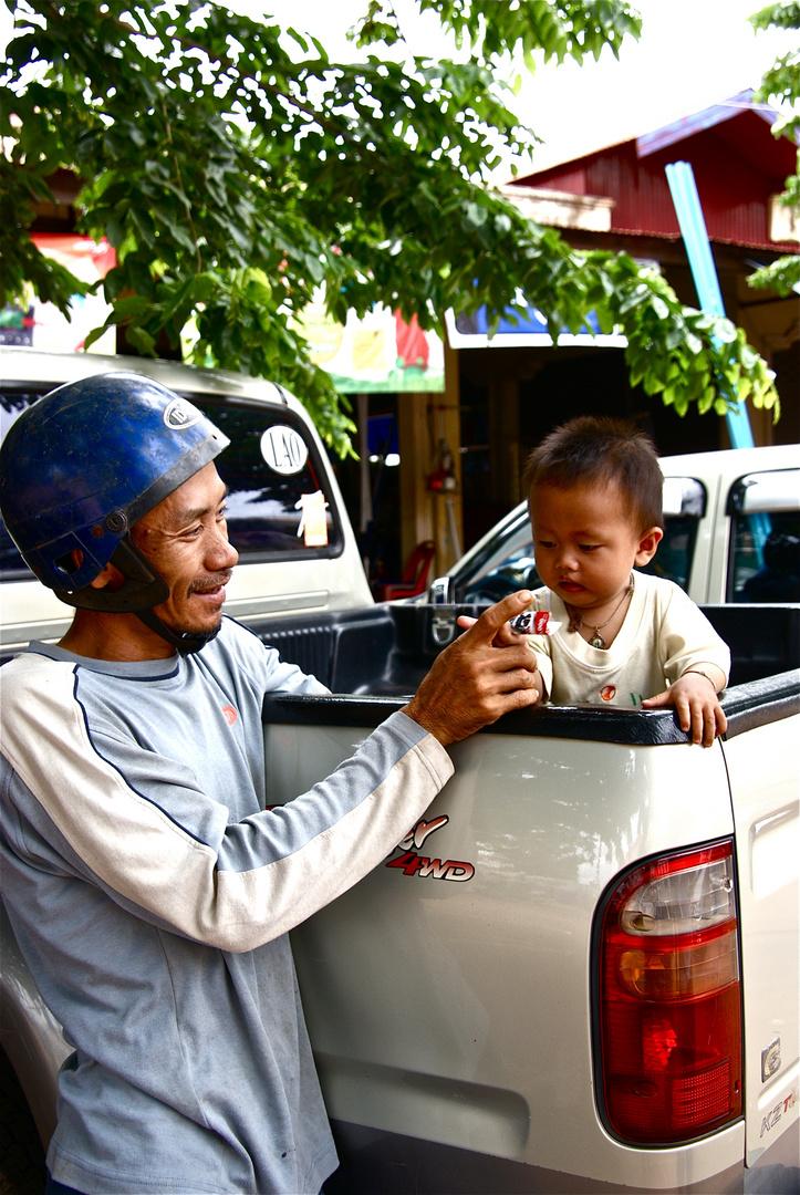 kinder sind doch das schönste, was uns gegeben..., laos 2010