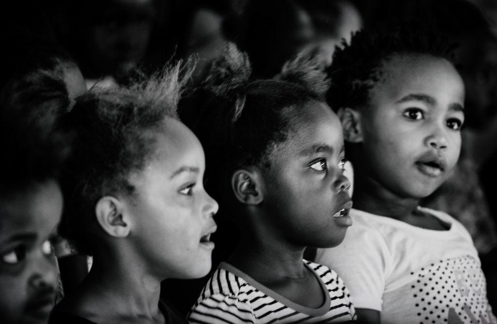 Kinder Südafrika No. 1