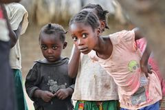 Kinderaugen Sambia