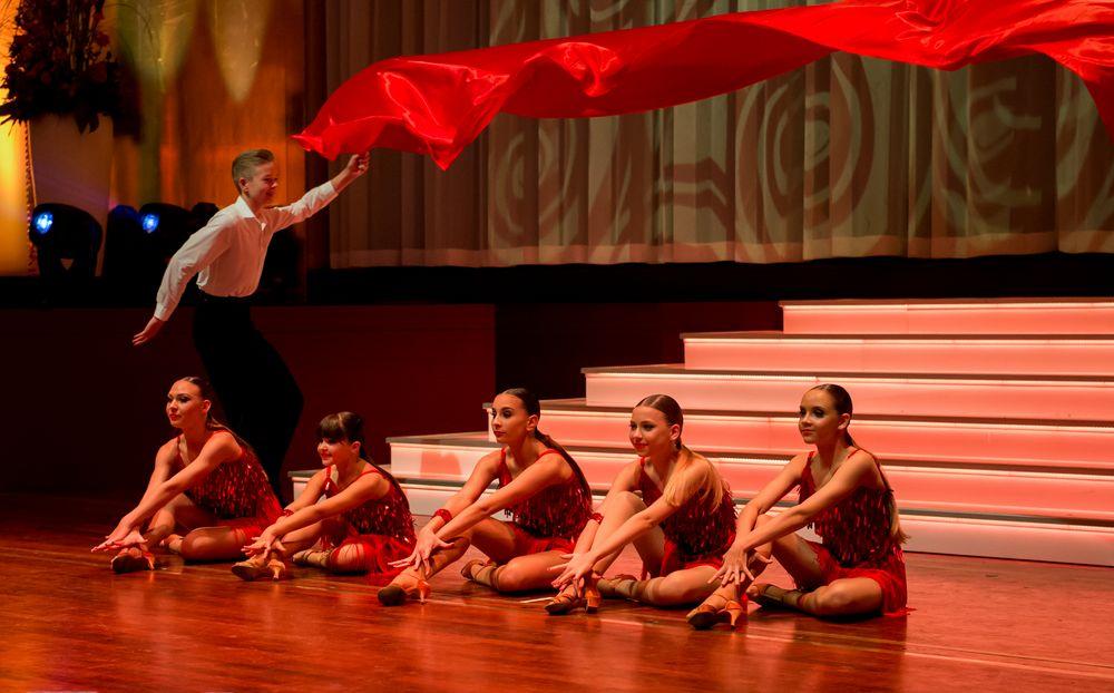 Kinderformation der Tanzschule Gutmann Freiburg