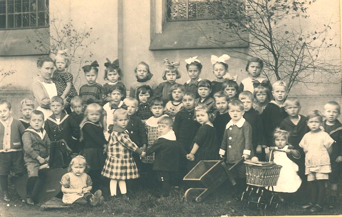Kindergarten ist keine Erfindung unserer Tage
