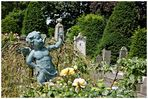 Kindergrab auf dem alten Edamer Friedhof
