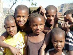 Kindergruppe auf Cabo Verde