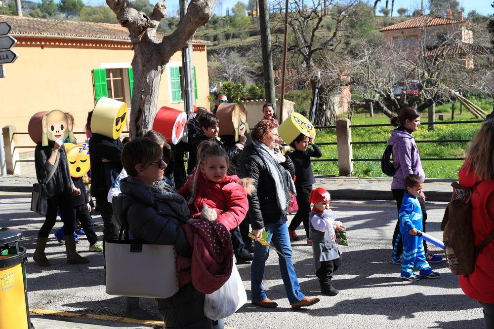 Kinderkarneval in Puigpunyent