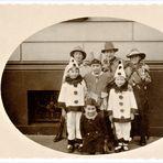 Kinderkarneval vor 100 Jahren