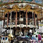 Kinderkarussell in Saintes Maries de la Mer