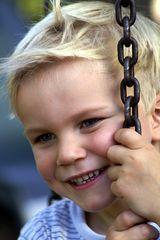 Kinderlächeln - einfach Joris