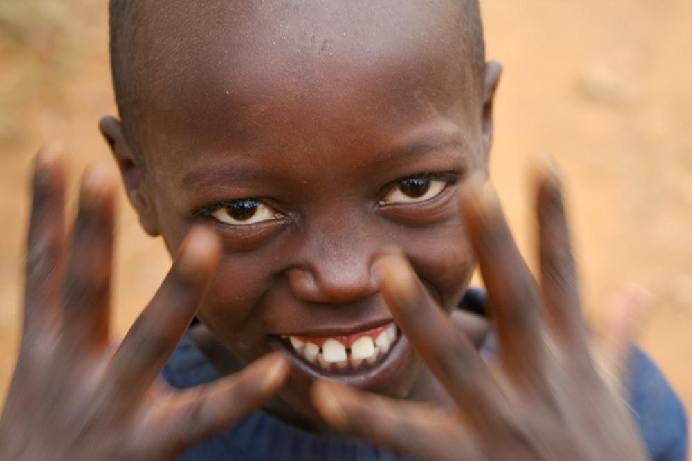 Kinderporträt Kenia