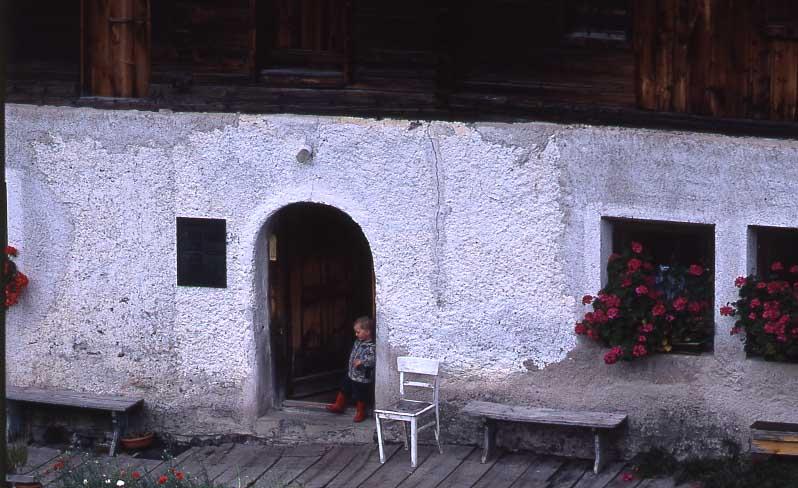 Kindheit auf Bergbauernhof in Südtirol