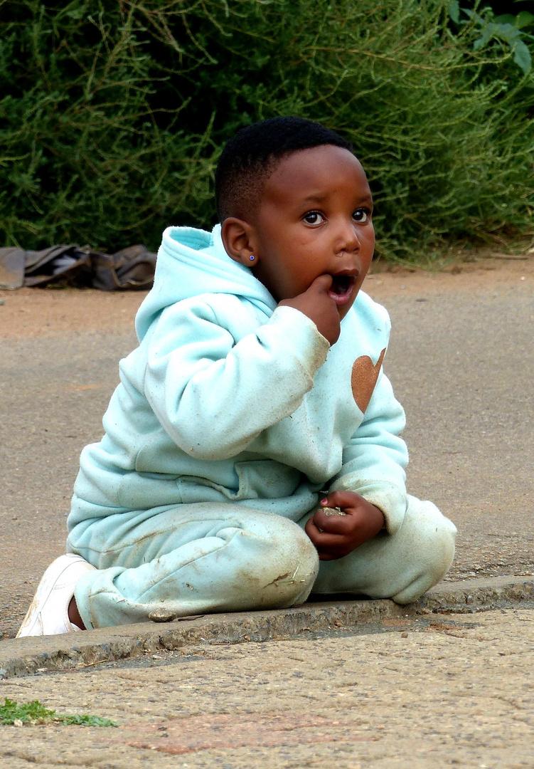Kindheit im Township. Südafrika