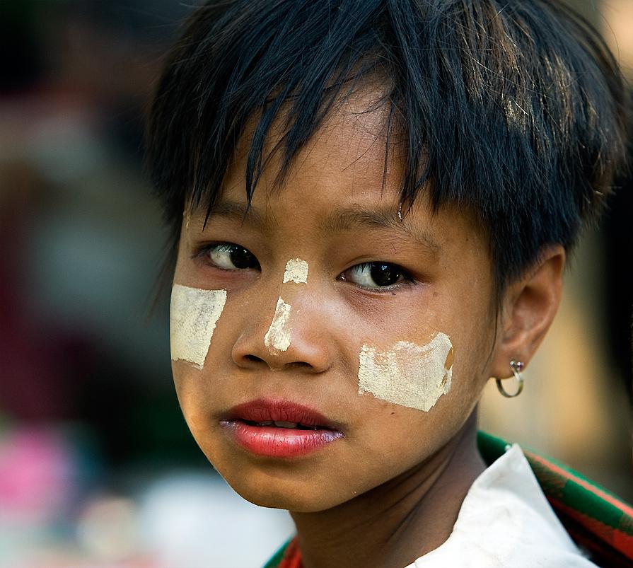 Kindheit in Burma