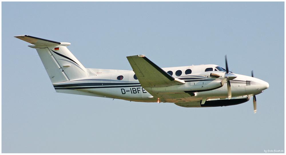 King Air 200 Überflug....