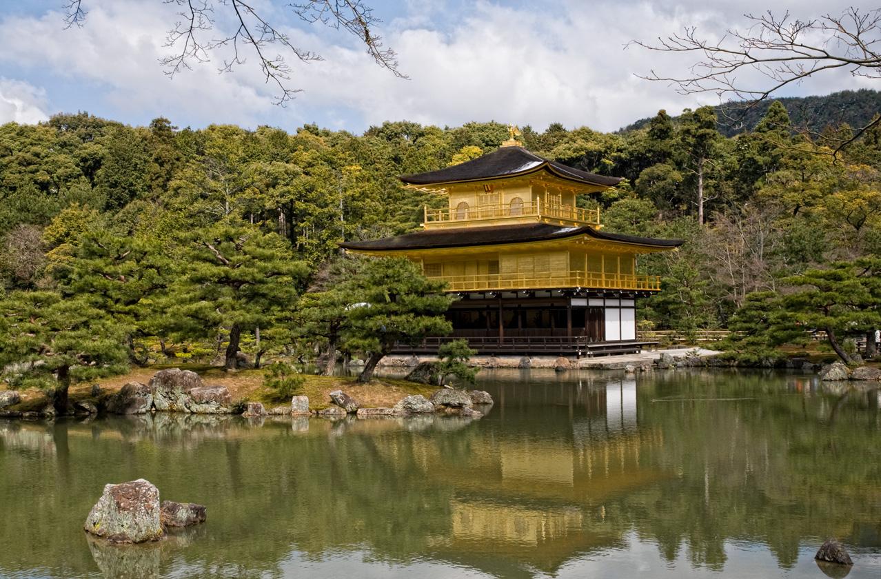 Kinkaku-ji - Goldener Pavillon