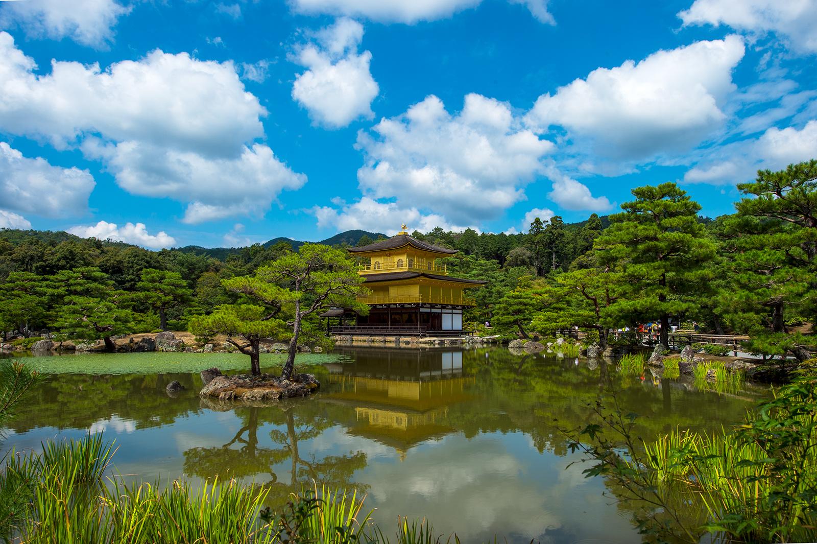 Kinkaku(The Golden Pavilion) Rokuon-ji Temple