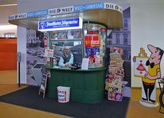 Kiosk im Museum