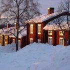 Kirchdorf Wilhelmina Lappland