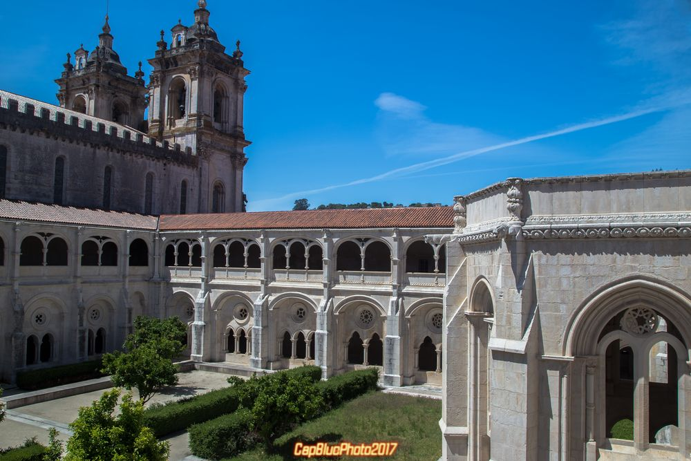 Kirche Alcobaca mit Kreuzgang