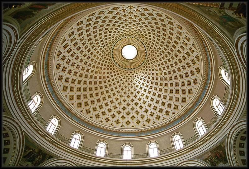 Kirche auf Malta in der Stadt Mosta