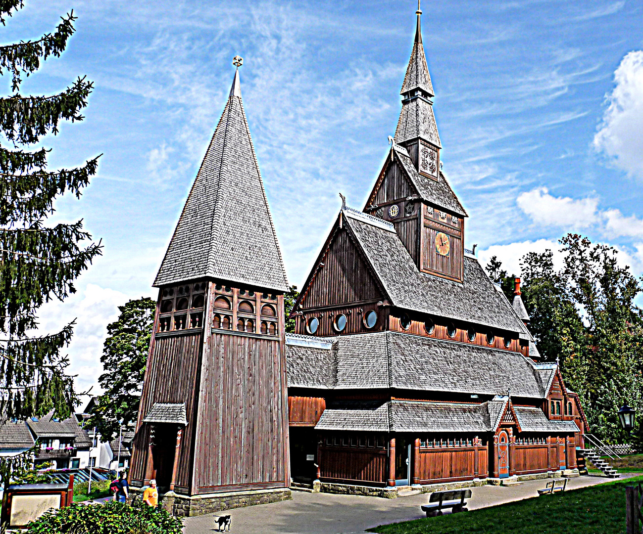 Kirche aus Holz 2