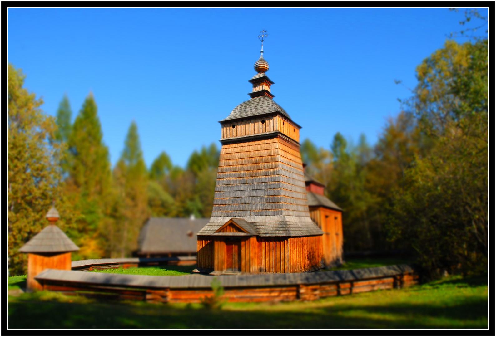 Kirche aus Holz...