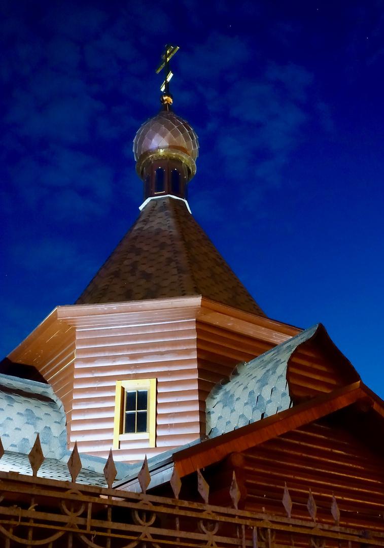 Kirche Aus Holz