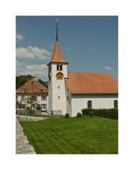 Kirche im Jura