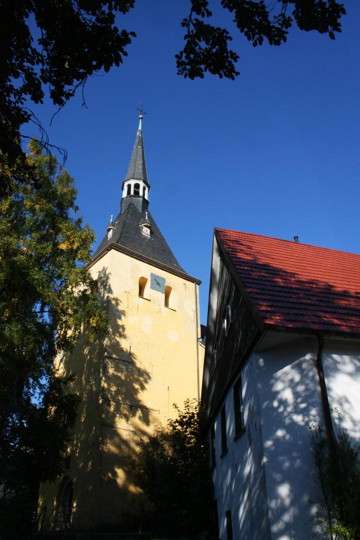 Kirche im September