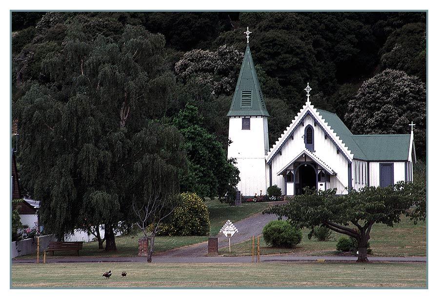 Kirche in Akaroa