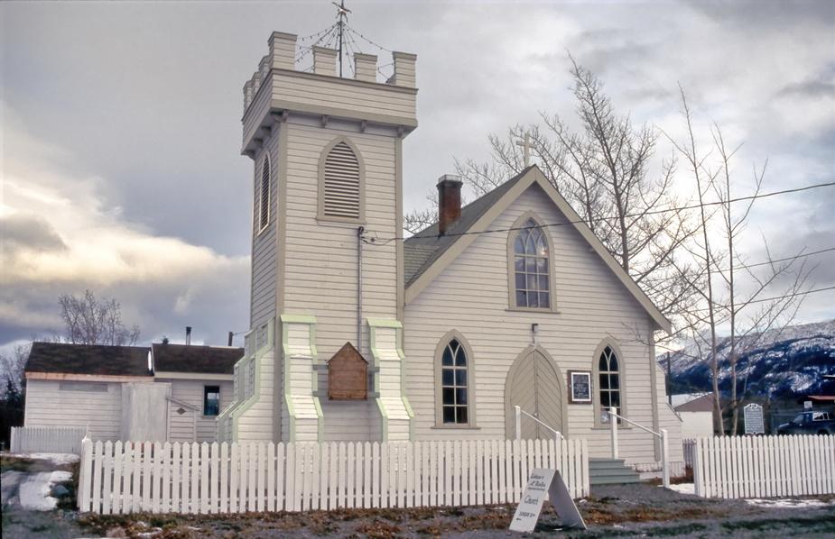 Kirche in Atlin