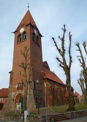 Kirche in Dahlenburg/ Lüneburg