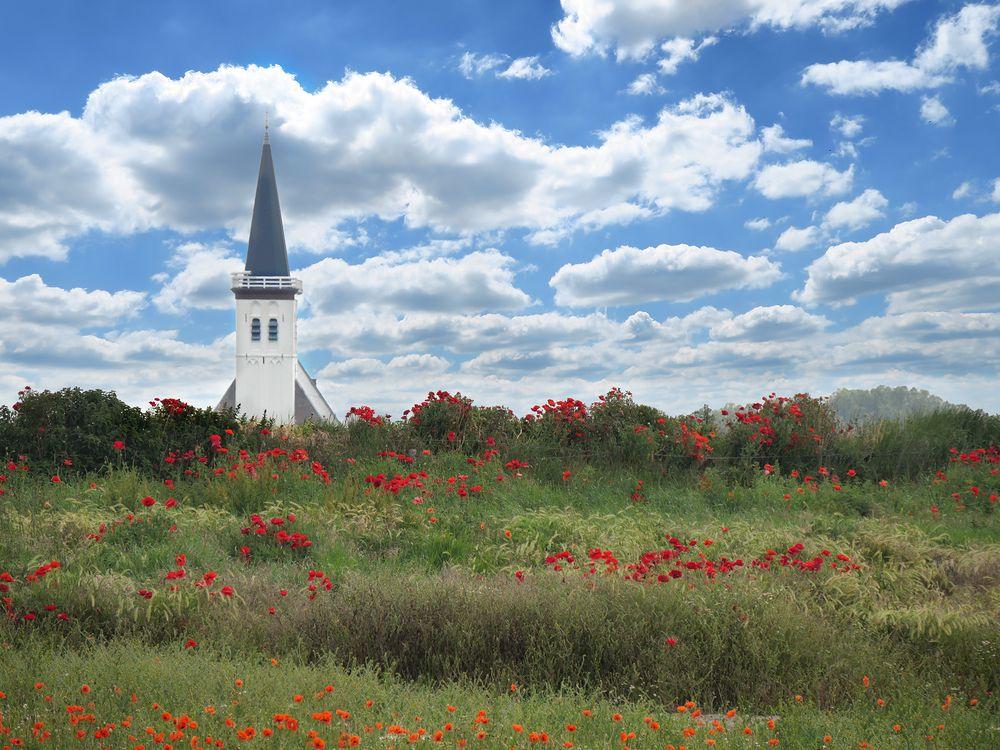 Kirche in Den Hoorn auf Texel