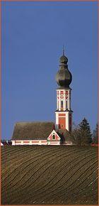Kirche in der Brandung