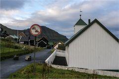 Kirche in Elduvík..