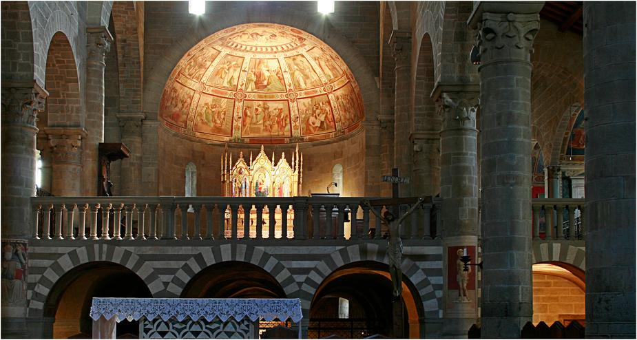 - kirche in fiesole - eine reise durch die toskana -