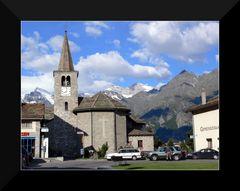 Kirche in Grächen