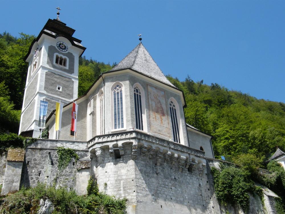 Kirche in Hallstadt