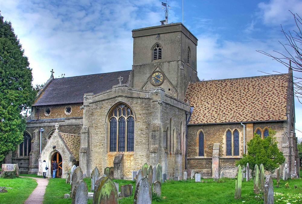 Kirche in Histon / Cambridge