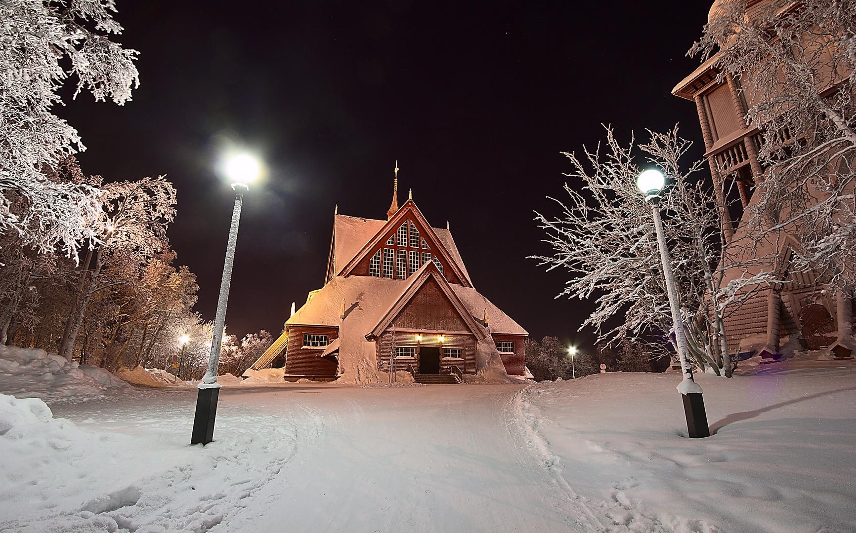 Kirche in Kiruna