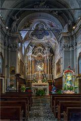 Kirche in Limone am Gardasee