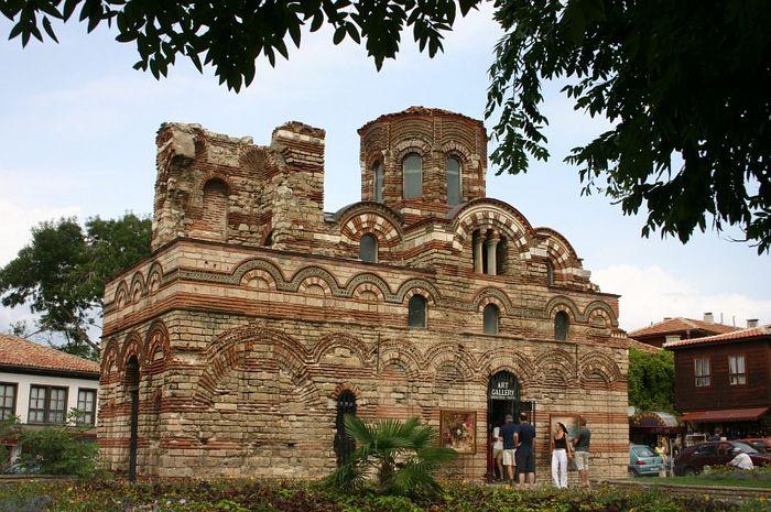 Kirche in Nessebar, Bulgarien