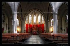 Kirche in Nijmegen ...
