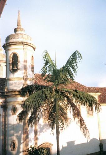 Kirche in Ouro Preto, Minas Gerais