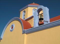Kirche in Pastelltinten