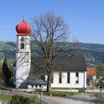 Kirche in Scheffau (Scheidegg)